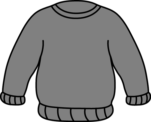 Gray Sweater Clip Art