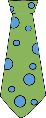Green and Blue Polka Dot Tie