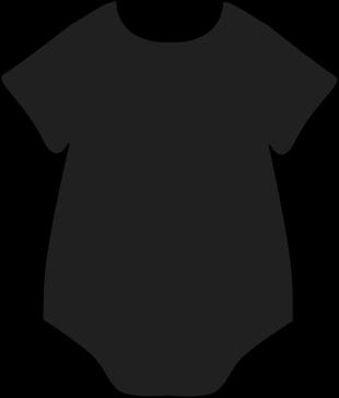 Clip Art Onesie Clip Art baby clothing clip art images black onesie