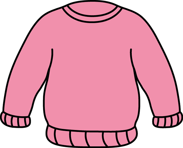 Pink Sweater Clip Art - Pink Sweater Image