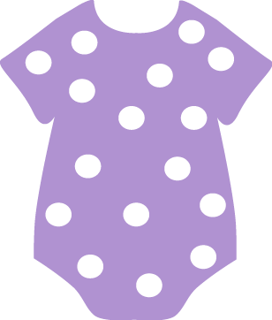 purple polka dot onesie clip art purple polka dot onesie image rh mycutegraphics com polka dot clip art borders polka dot clip art free