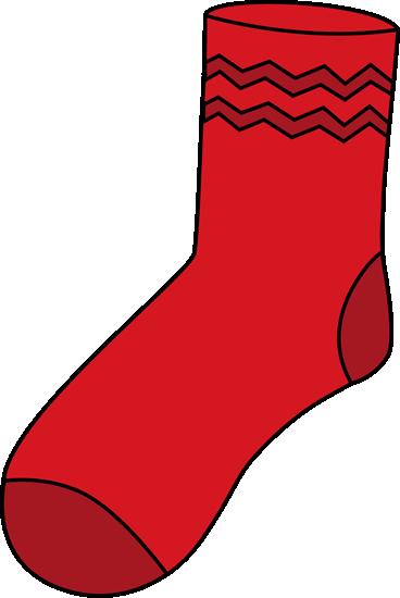 Red Sock Clip Art