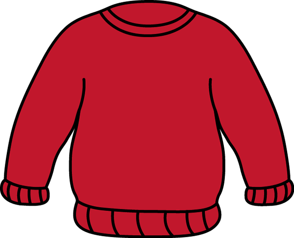 Red Sweater Clip Art