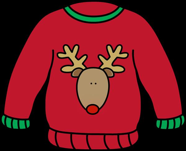 Reindeer Sweater Clip Art - Reindeer Sweater Image