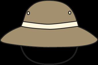 Brown Safari Hat