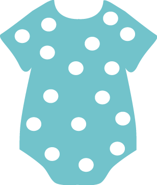 Light Blue Onesies