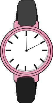 Pink Wrist Watch