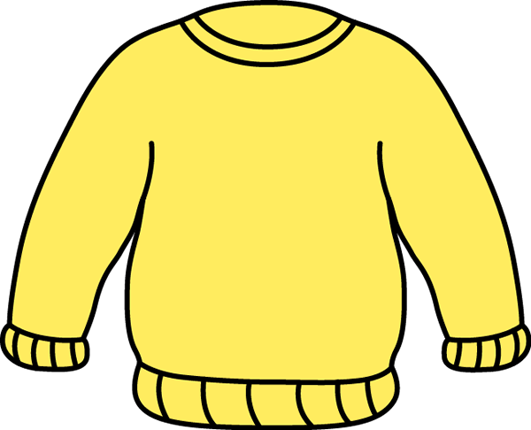 Yellow Sweater Clip Art