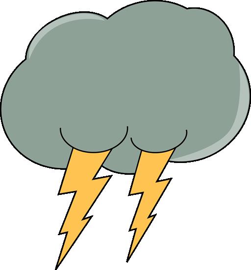 Dark Lightning Cloud