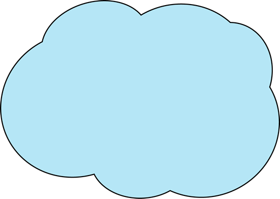 Fluffy Blue Cloud