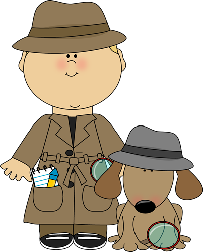 Boy Detective and Dog