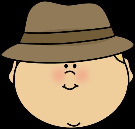 Detective Face Clip Art