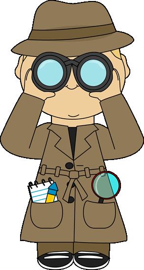 Detective With Binoculars
