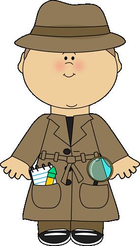 Kid Detective Clip Art - Kid Detective Image