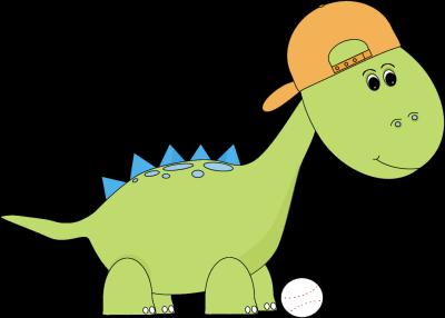 Baseball Dinosaur