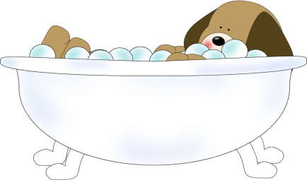 dog in bathtub clip art dog in bathtub image. Black Bedroom Furniture Sets. Home Design Ideas