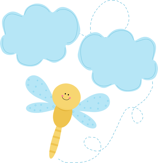 Dragonfly in the Clouds