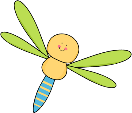 Flying Dragonfly Clip Art - Flying Dragonfly Image