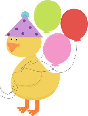 Birthday Party Duck Clip Art Birthday Party Duck Image
