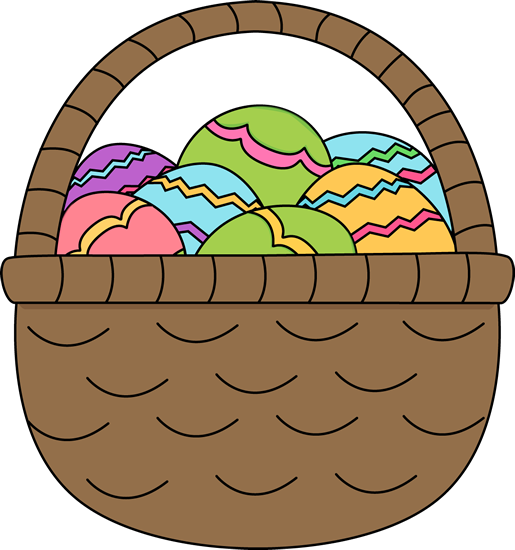 Clip Art Easter Eggs Clipart easter egg clip art images basket of eggs