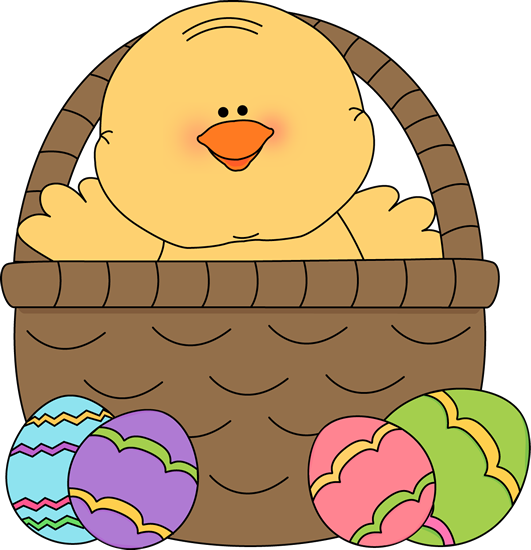 clip art for easter baskets - photo #7
