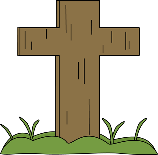 Easter Cross in the Grass