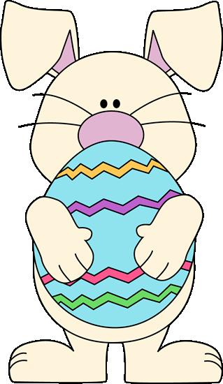 White Easter Bunny Clip Art