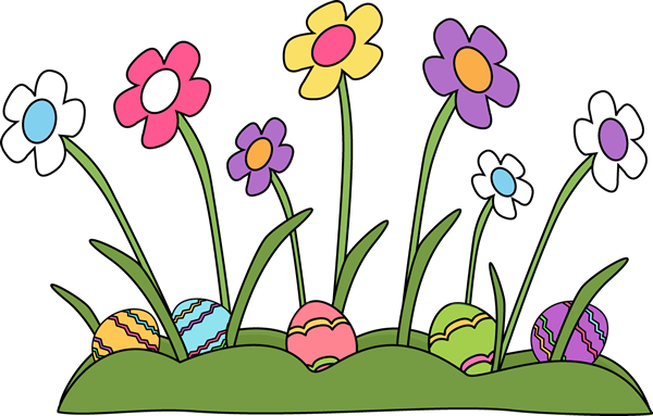 Easter Eggs Hidden in the Grass Clip Art - Easter Eggs ...Easter Clipart Free