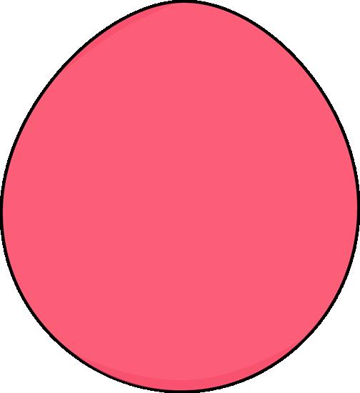 Pink Easter Egg
