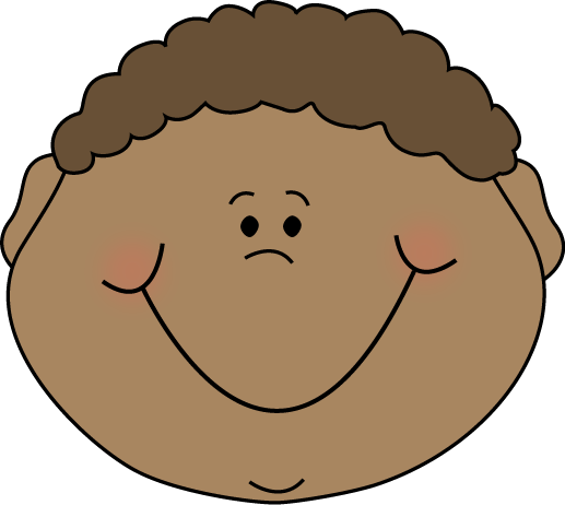Little Boy Happy Cartoon Face Clip Art - Little Boy Happy ...