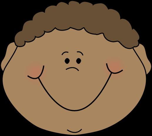 Little Boy Happy Cartoon Face