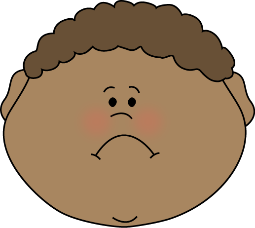 Clip Art Sad Faces Clip Art little boy sad face clip art image art