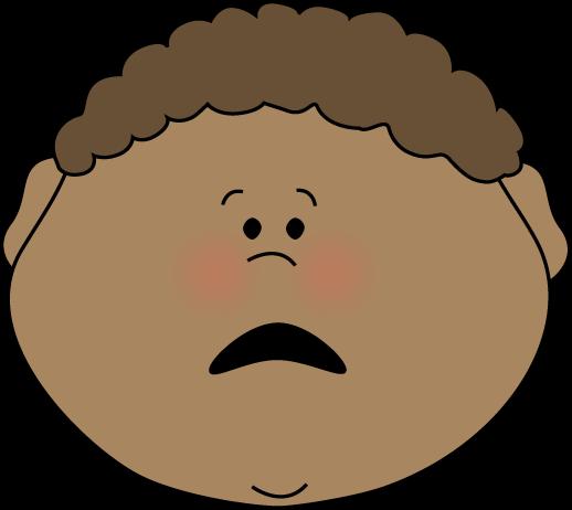 Scared Boy Clip Art - Scared Boy Image