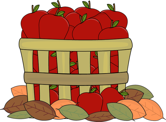 Autumn Apples Clip Art