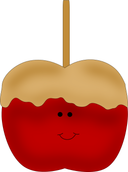 Caramel Apple Clip Art