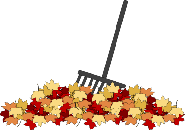 Leaves and Rake