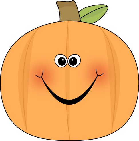 Cute Pumpkin Clip Art