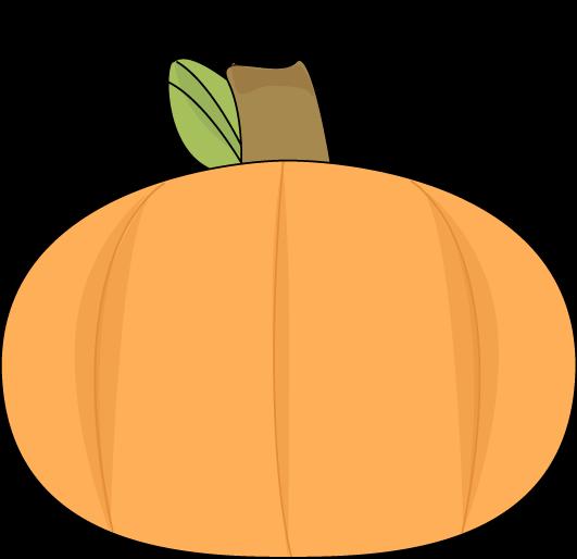 Pumpkin on a Swirly Vine
