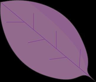 Purple Autumn Leaf