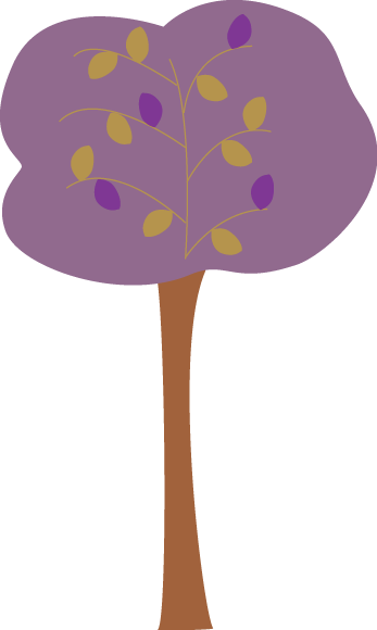 Purple Autumn Tree