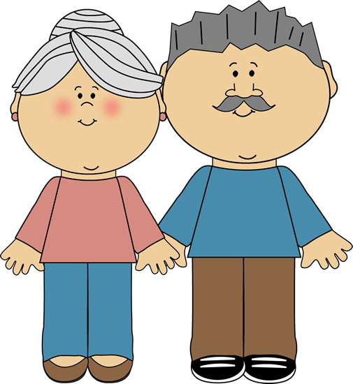 Grandparents Clip Art Image Grandparents Family Clipart