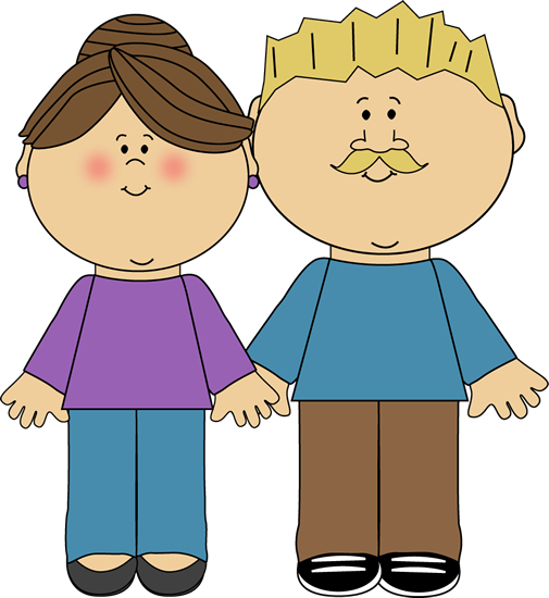Parents Clip Art Image
