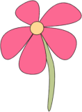 Droopy Pink Flower