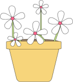 Flowers In A Pot