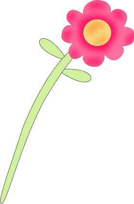 Flower clip art flower images pink flower mightylinksfo