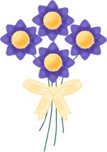 Purple Floral Bunch
