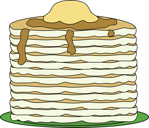 Big Stack of Pancakes
