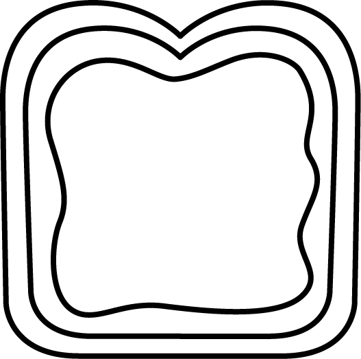 Black and White Bread with Jelly