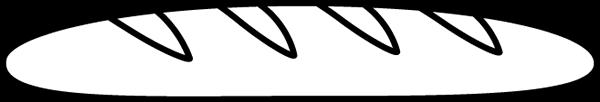 Black & White French Bread