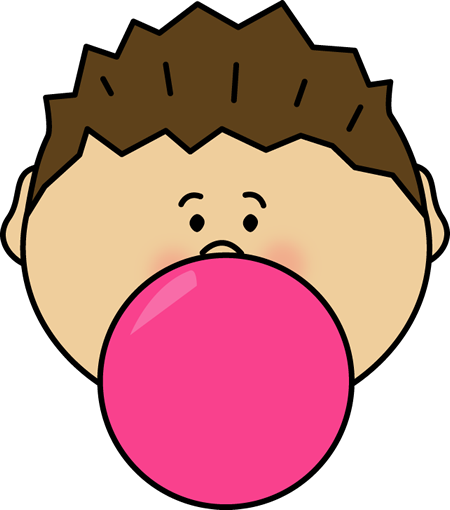Clip Art Bubble Gum Clipart bubblegum clip art images boy blowing bubble